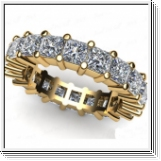 Diamantring Memory mit 2.40 Karat Diamanten in 585er Gelbgold